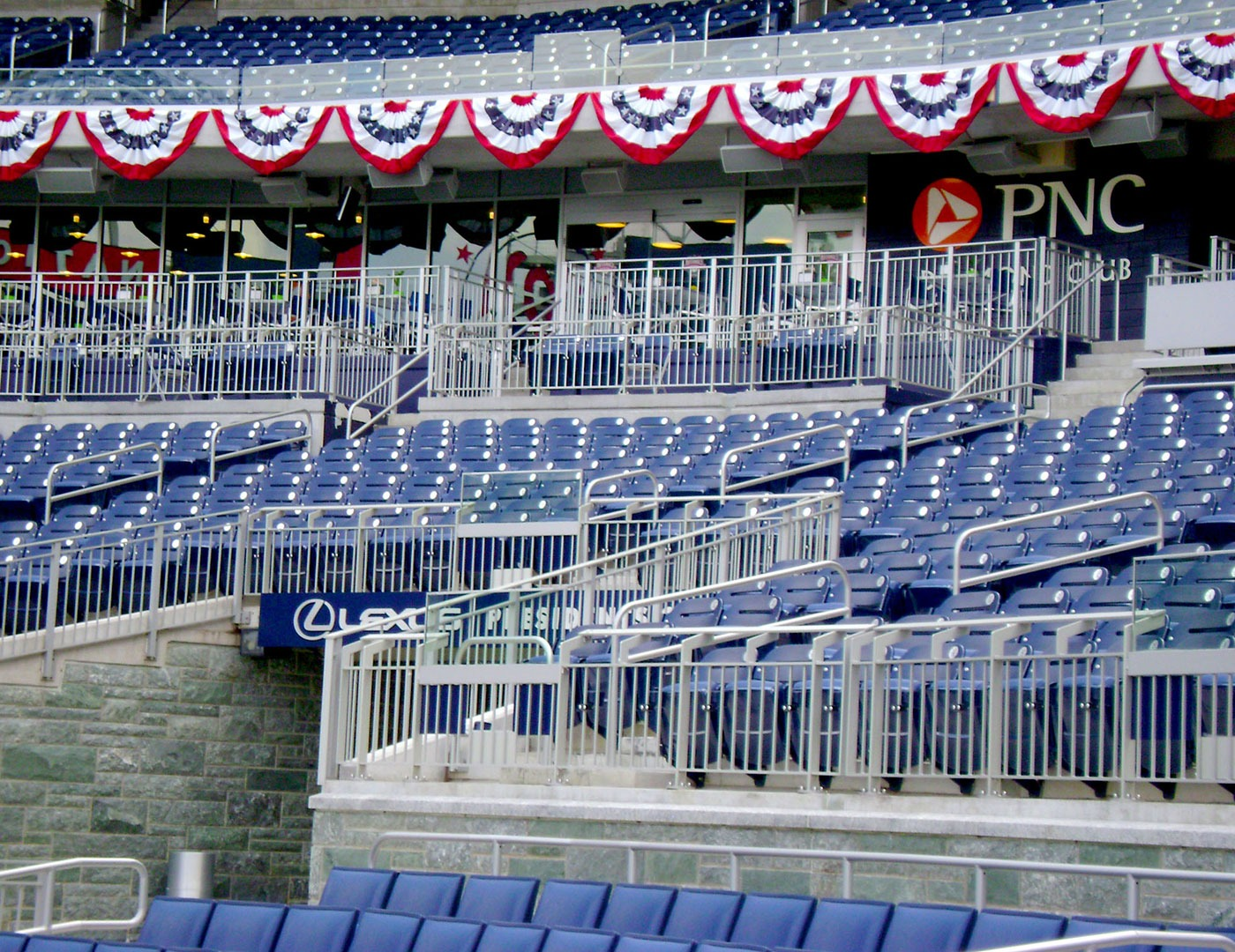 Nationals Park features Classic Picket railing