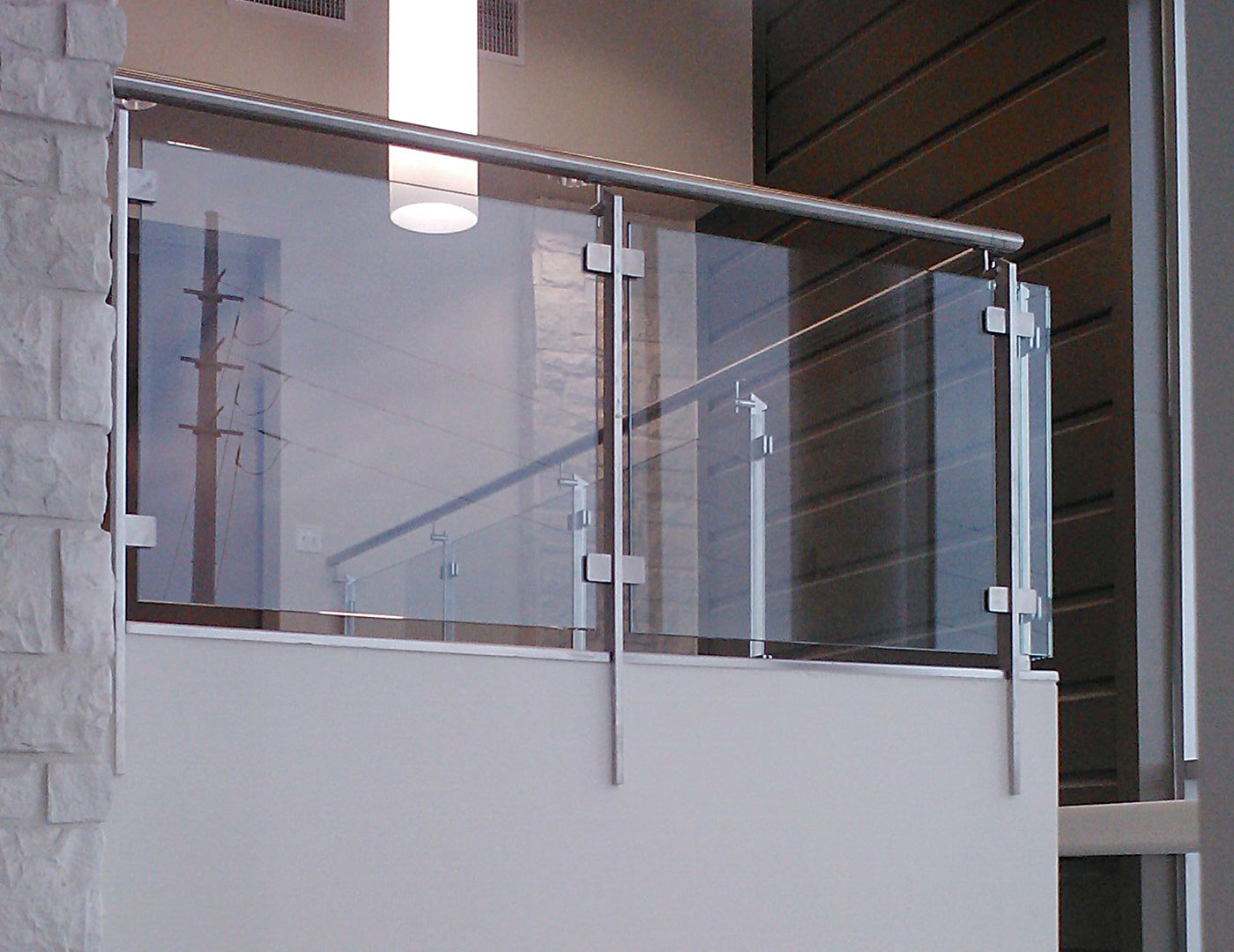 Summit commercial glass railings sc railing company for Architectural railings