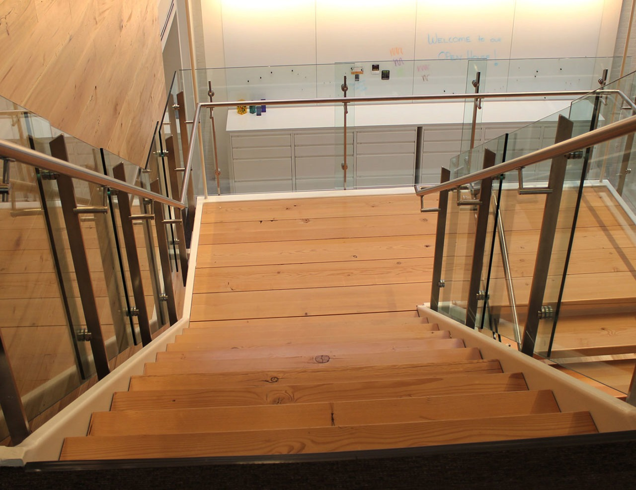 Stainless Steel with Glass Railing Price Modern